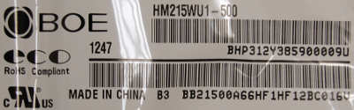 матрица HM215WU1-500