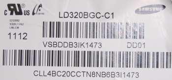 матрица LD320BGC-C1