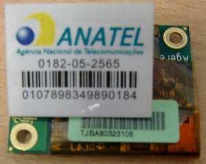 Модем для ноутбука (Modem for laptop) Agere Athens modem AM2 Anatel