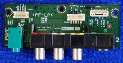 Side AV Board 1-870-679-11 от телевизора Sony KDL-32U2000
