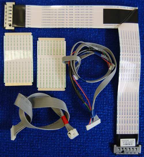 Шлейф 1161113 ICT от телевизора Dexp F49C8000H