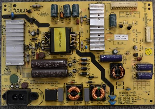 Power Supply Board 168P-L3L025-W0 от Telefunken TF-LED40S13T2