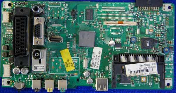 Main Board 17MB62-2.6 от телевизора Sharp LC-22LE240RUX