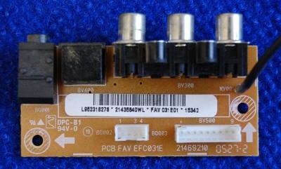 Side AV Board EFC031E 21469210 от телевизора Thomson 32LB040S5