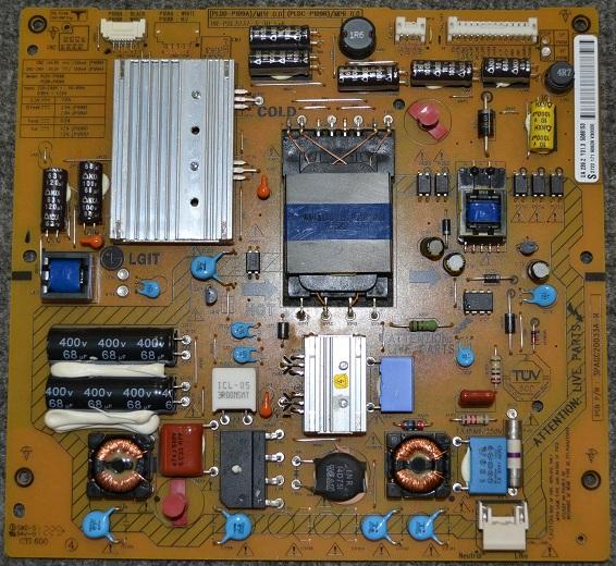 Power Supply Board 2722 171 90609, 3PAGC20033A-R, PLDD-P109A, PLDC-P109B