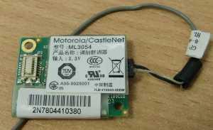 Модем ML3054 Motorola/CastleNet от ноутбука