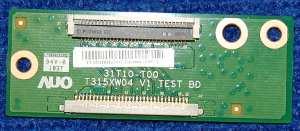 Test Board 31T10-T00 (T315XW04 V1) от телевизора LG 32LD335-ZA, 32LK330