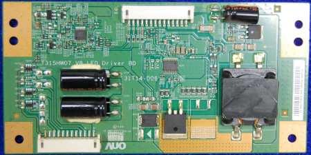 LED Driver Board  T315HW07 V8 (31T14-D06) от телевизора LG 32LV2500-ZG, LG 32LV370S-ZB