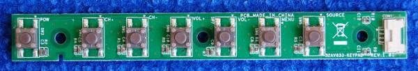 Button Board 32AV833-KEYPAD