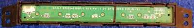 Button Board 22025A1600P/T от телевизора DEXP F32C7100B/W, F32C7000B