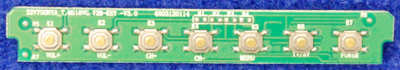 Power Button Board 32V7SONYA_T.MS18VG.72B-KEY-V3.0