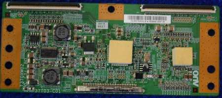 T-con Board T370XW02 37T03-C01 от телевизора Samsung