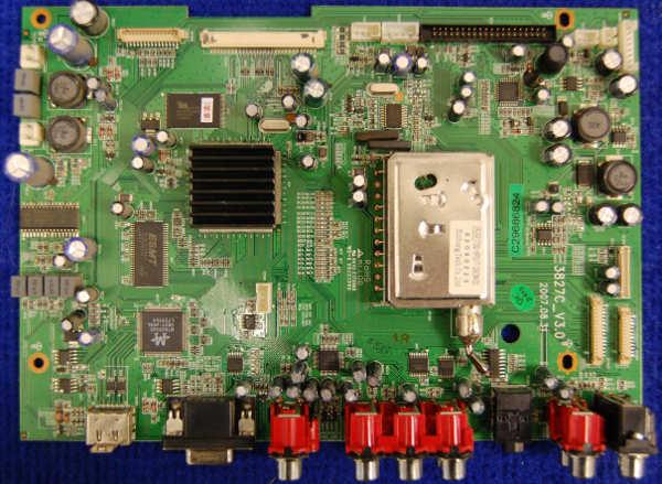 Main Board 3827C_V3.0 от телевизора Elenberg LVD-3203