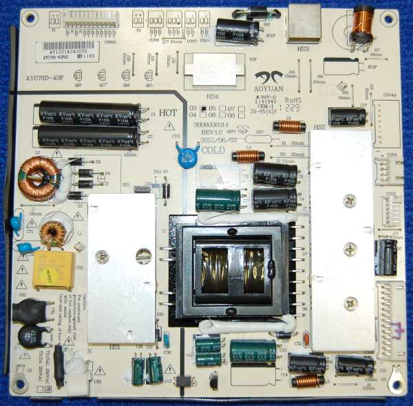 Power Supply Board 3BS0036314 от телевизора VR LT-32L05V