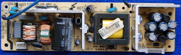 Power Supply Board 40-PWL20C-PWI1XG от телевизора Philips 22PFL5403S/60