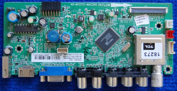 Main Board 40-MT27C1-MAC2XG (H) от телевизора Thomson T32C30U