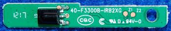 Infrared Board 40-F3300B-IRB2XG