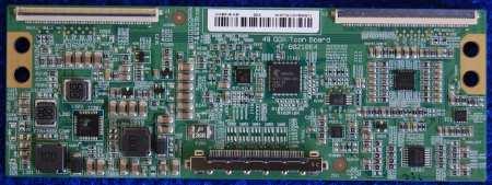 T-con Board 47-6021064 HV490FHB-N80 от телевизора DEXP F49C8000H