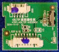 IR Board 4707-43L73F-A1233K01 от телевизора Philips 43PFT4001/60