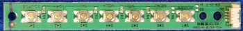 Button Board 4713-43L73F-A4123K01 от телевизора Philips 43PFT4001/60