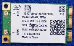 Wi-Fi Module 512AG_MMW Intel WiFi Link 5100 от ноутбука