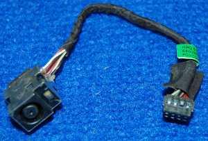 Шлейф с разъемом питания 661680-301 от ноутбука HP g6-2254sr