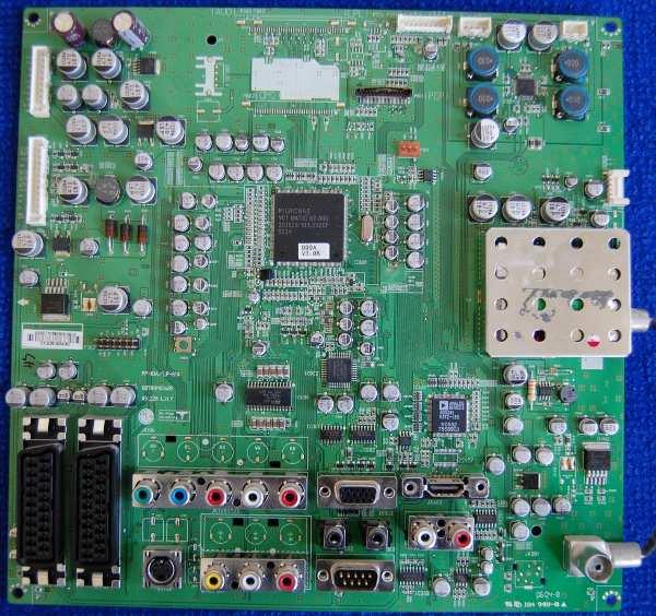 Main AV Board PCB: PP-61A/LP-61A 68709M0348B от телевизора LG 42PC1RV-ZJ