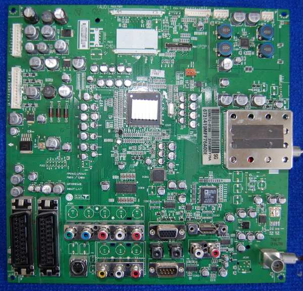 Main AV Board PCB: PP-61A/LP-61A 68709M0348E от телевизора LG 42PC3RV-ZJ