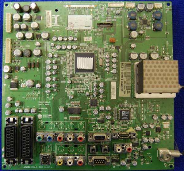 Main AV Board PCB: 68709M0348F от телевизора LG 42PC3RV-ZJ