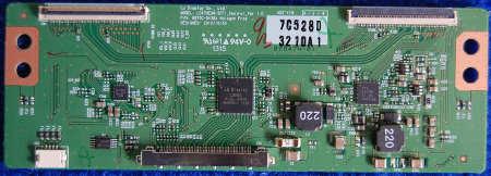 T-con Board 6870C-0438A LC470EUN-SFF1 шасси TPM10.1E LA от телевизора Philips 32PFL5018T/60