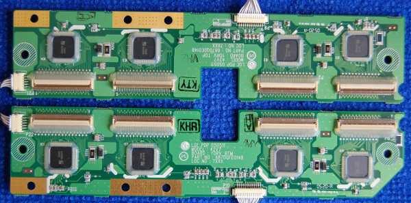 Платы от телевизора LG 42PX3RVA-ZC Buffer Board 6871QFE014B, 6871QDE014B