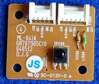 Infrared Board ML-041A 6870T905C10 от телевизора LG RZ-23LZ50