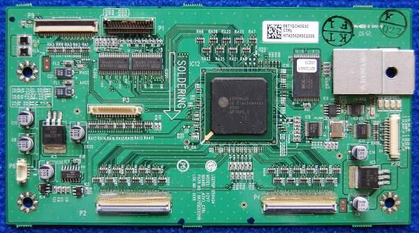 Control Logic Board 6871QCH053C от телевизора Toshiba 42WP66R