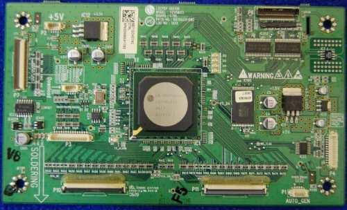Control Board 6870QCH106C 6871QCH074C от телевизора LG