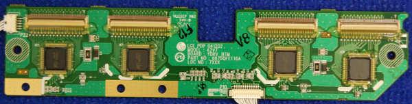 YDRV_BTM Board 6871QDH106A (6870QFE116A) от телевизора Sony FWD-42PV1