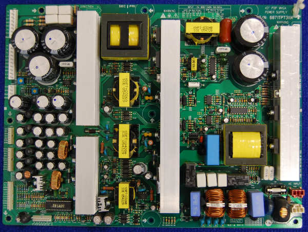 Power Supply Board 6871TPT311A от телевизора Sony FWD-42PV1