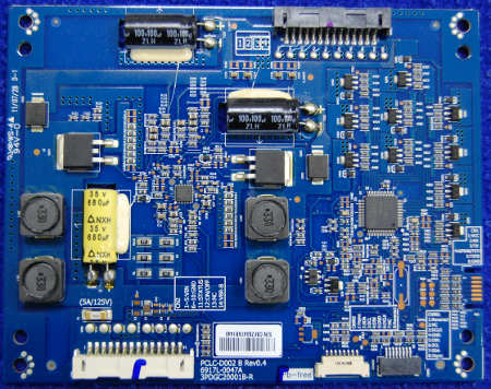 LED Board 6917L-0047A PCLC-D002 B Rev0.4 от телевизора LG 32LW575S-ZC