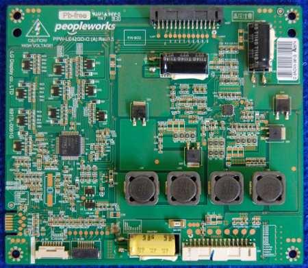 LED Address Board 6917L-0061G PPW-LE42GD-O (A) Rev0.5 от телевизора LG 42LW4500-ZB
