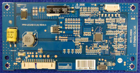 LED Driver Board PPW-LE32SE-O (A) Rev0.5 6917L-0080A от телевизора LG 32LM580S