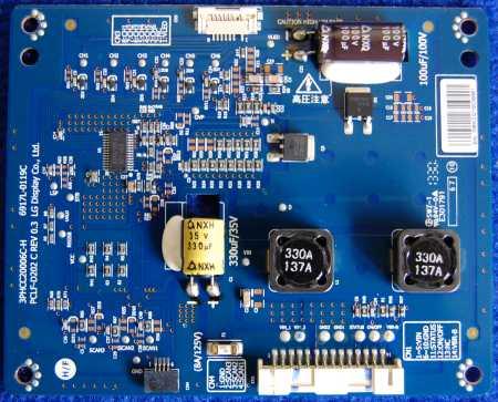 Inverter Board 6917L-0119C 3PHCC20006C-H от телевизора LG 42LA643V-ZB