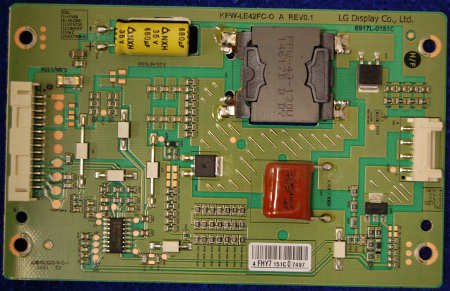 Inverter Board 6917L-0151C KPW-LE42FC-O A Rev0.1 от телевизора Philips 42PFT5609/60
