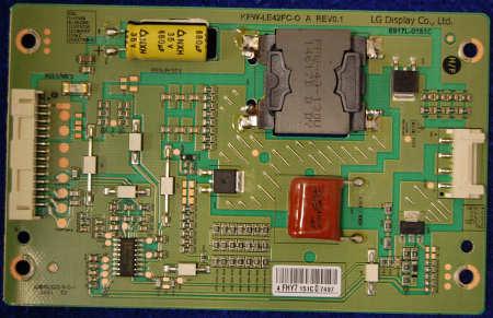 Inverter Board 6917L-0151C KPW-LE42FC-O A Rev0.1 от телевизора Philips 42PFT5609/60