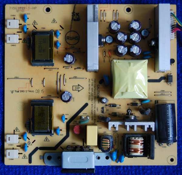 Power Supply Board 715G1899-1-HP от монитора Acer AL1916W