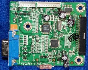 Main Board 715G2754-1-AC1 Ver:A от монитора Acer AL1916W