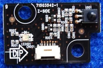 IR Board 715G3542-1 от телевизора Sharp LC-26S7RU-BK