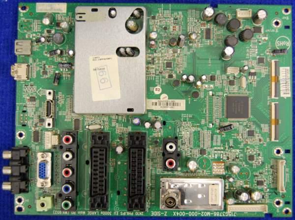 Main Board 715G3786-M02-000-004X от телевизора Philips 42PFL3605/60 TPM4.1E LA