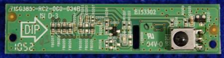 IR Board 715G3851-R02-000-004B от телевизора Philips 42PFL3605/60 TPM4.1E LA