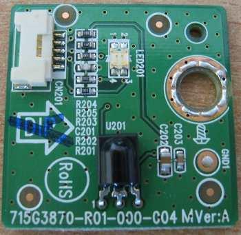 Infrared Remote Sensor 715G3870-R01-000-004 от телевизора Haier LT26AI