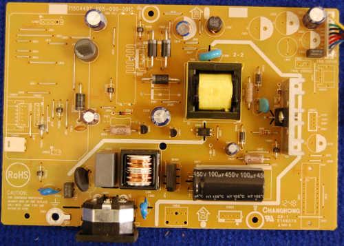 Power Supply Board 715G4497-P05-000-001C от телевизора Philips 196V3LSB25