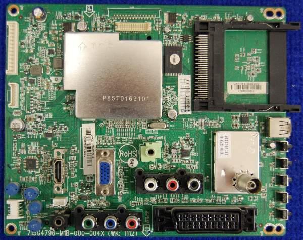 Main Board 715G4796-M1B-000-004X (WK: 1112) Philips 22PFL3606H/60 TPM8.2E LA